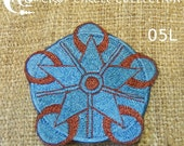 Sacred Geometry Crop Circle Patches - Crop Circle Collection (05L)