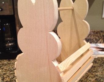 Wooden Children's Easter Basket
