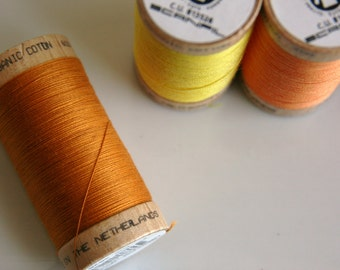 ORGANIC Cotton Thread in Ocre  - GOTS Certified - 4826