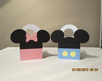"3"" x 3"" Baby Mickey & Minnie Favor/Treat Bags (Set of 6)"