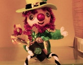 St. Patrick's Day Leprechaun Shelf Sitter