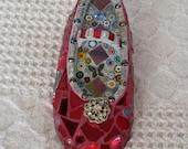 Red Mosaic Shoe  Children's Shoe