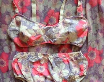 1950 lovely bikini and dress set.