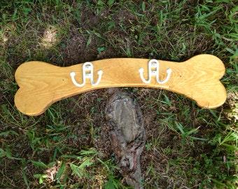 Dog Bone Leash Hanger