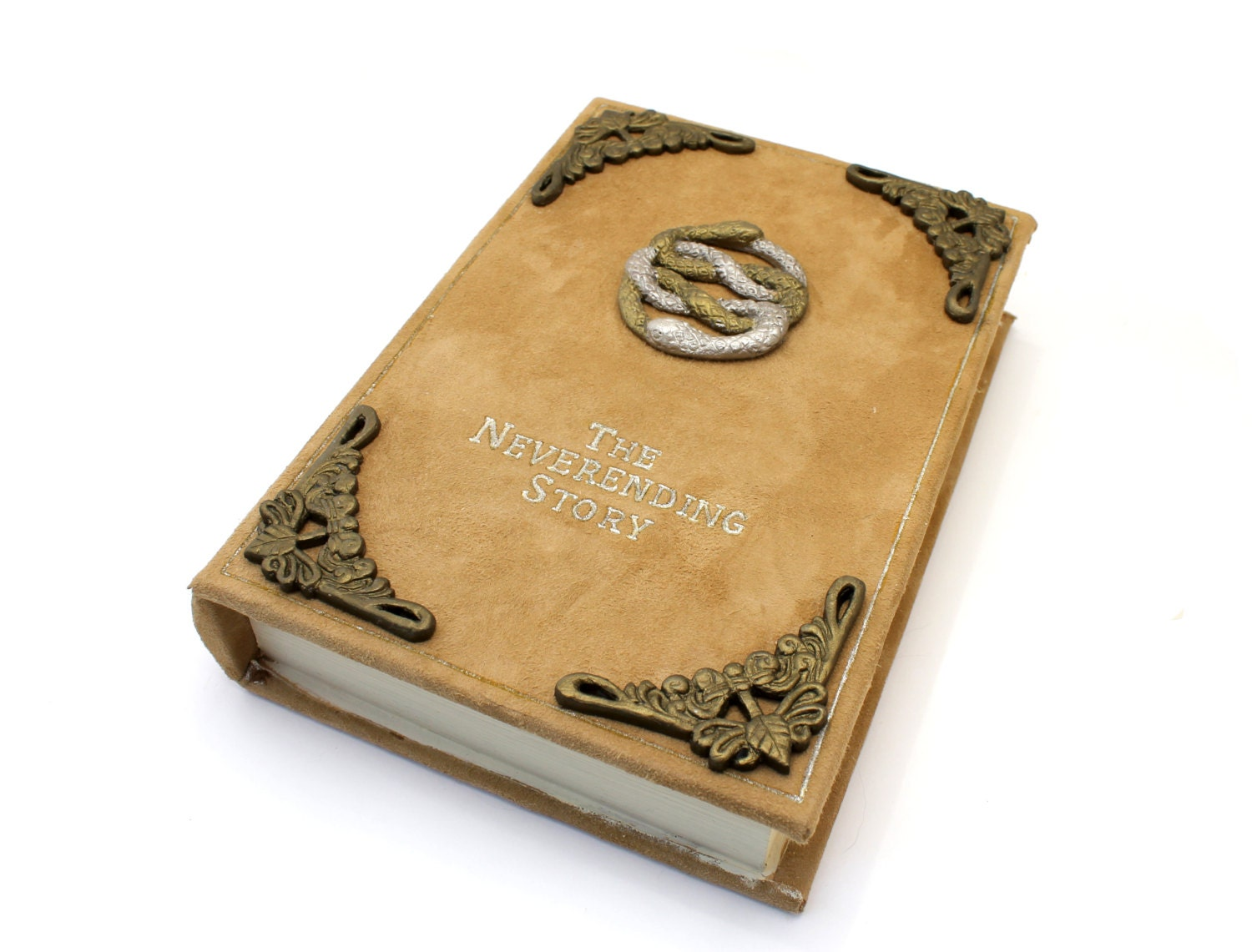 Book Cover Handmade Jewellery : The neverending story book jewelry box decorative