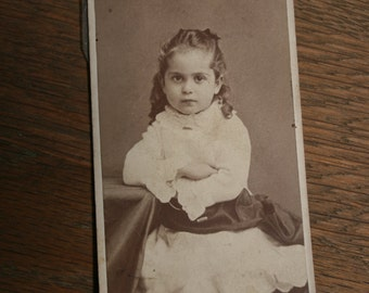 Antique Photo of a Young Girl