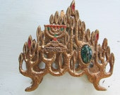 CLEARANCE Vintage Jerusalem Letter Holder Judaica