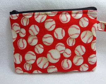 Makeup Bag: Baseball