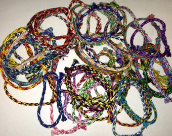 Friendship Bracelets Set of 10 Random