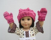 Doll Beret Red/Pink