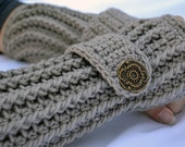 Clay arm warmers, fingerless gloves, arm warmers, texting gloves, crochet gloves, wrist warmers, hand warmers, mittens, warm gloves