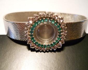 1- Ladies Watch Case W/ Attached Bracelet