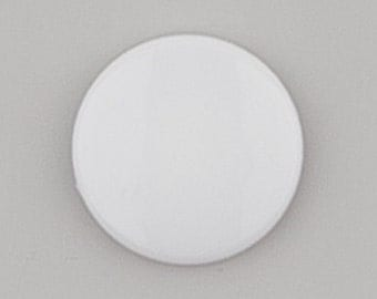 B43 Pearly White KAM Snaps for Cloth Diapers/Bibs/Crafts/Plastic Snap Buttons