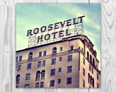 Roosevelt Hotel - Los Angeles Hollywood California Print Wall Art Photograph