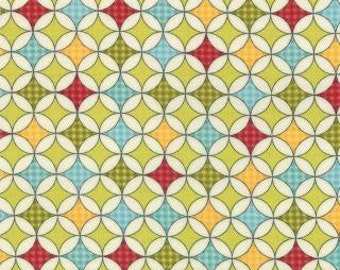 Wrapping Paper in Pickle Green - 5532-11 - Wishes by Sweetwater Quilts for Moda - 1/2 Yard