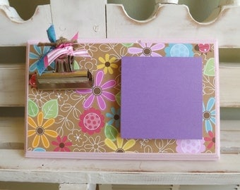 Message Note Holder Sticky Notes Memo Home Office Teacher Gift Birthday Coworker Hostess