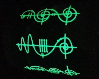 Your Name in Vulcan Script Personalised Glow in the Dark  Mug