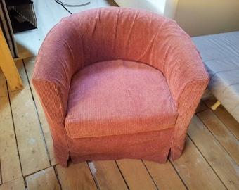 SALE* Slipcover for Solsta Olarp (from IKEA) , claret color, soft material, velvet touch. *