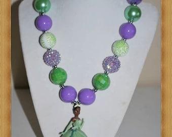 Princess Tiana Chunky Necklace
