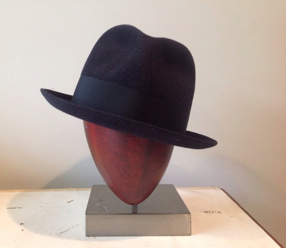 Large Vintage French Fedora from Willoughby Hatters