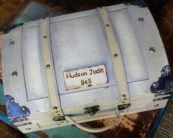 Memory Box Keepsake Box Treasure Chest Trunk Childs Time Capsule  (SMALL)