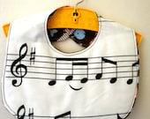 Music Major Baby Bib