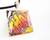 THAP Speech Bubble Comic Book Necklace