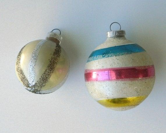 West German Vintage Ornaments