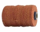 10 Yards - Lt. Rust Irish - Irish Waxed Linen - 4 Ply