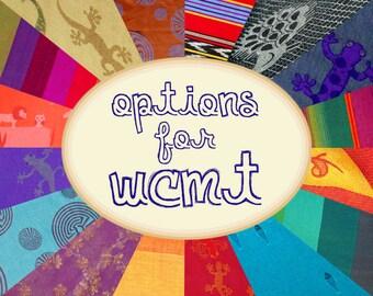 Options for WCMT - Straps (Read description)