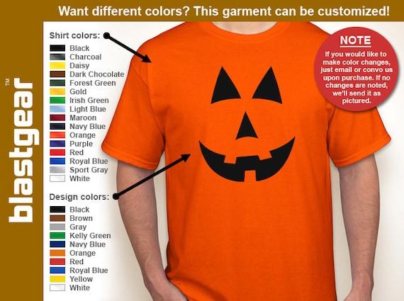Jack O'Lantern Halloween Costume T-shirt — Any color/Any size - Adult S, M, L, XL, 2XL, 3XL, 4XL, 5XL  Youth S, M, L, XL