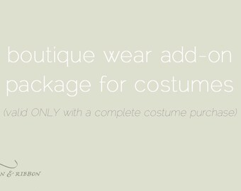 Halloween Costume - Clothing Add-on Package
