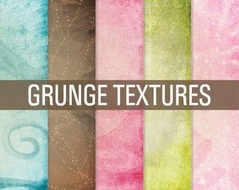 70% OFF SALE Grunge Digital Paper, Grunge Papers, Grunge Textures, Digital Paper, Grunge Overlays, Digital Paper Pack, Textured Papers