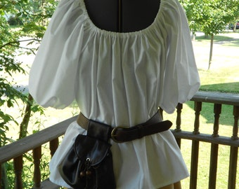 Womens Renaissance Peasant Blouse / Chemise / Pirate Shirt / Wench / handmade renaissance costume / Renaissance Shirt