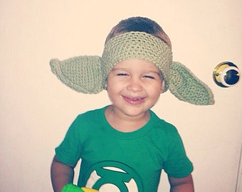 Yoda ear warmer