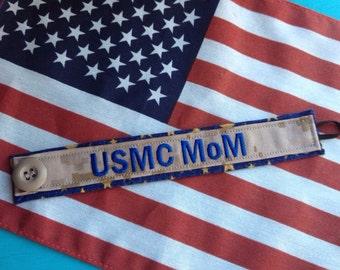 Military Fancy Name Tape Bracelet