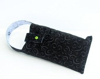 Diaper Clutch Mini Diaper Bag Free Shipping in US Black and White