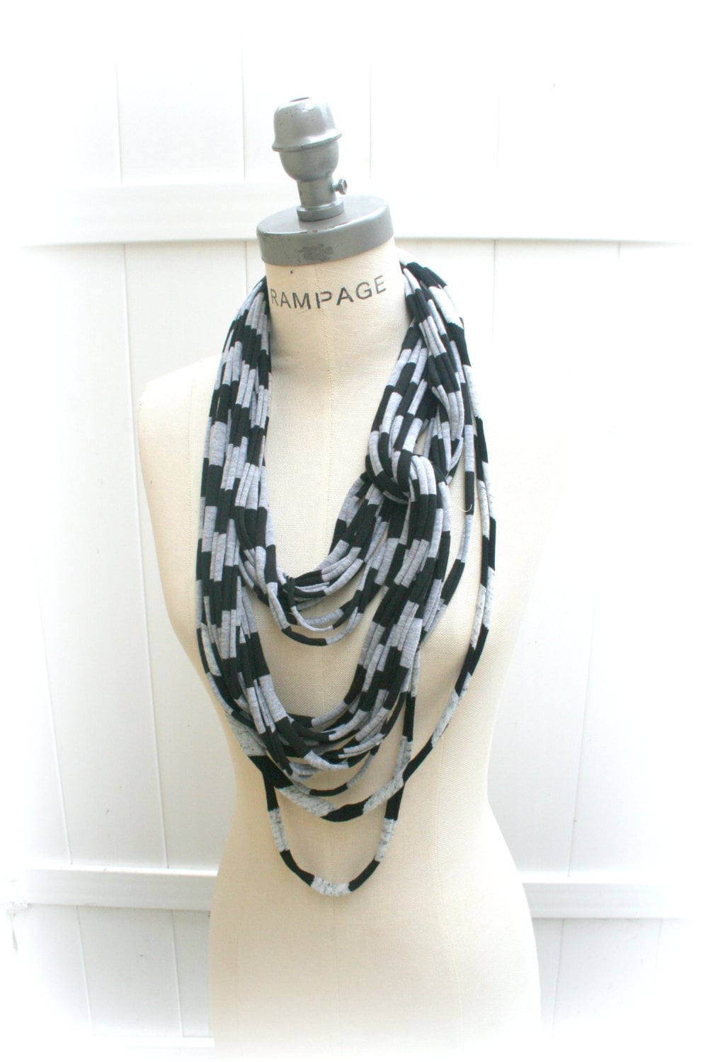 t shirt necklace scarf unique scarves infinity scarves by
