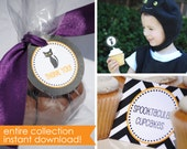 Halloween Party Printables. Instant Download halloween party. Not so spooky party collection