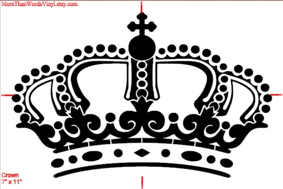 Stencil King Crown: Unavailable Listing On Etsy