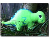 Stuffed plush toy Dinosaur Embroidery Design - Instant download