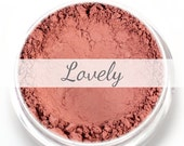 """Matte Rose Blush Sample - """"Lovely"""" (.75g Net wt) - Vegan Matte Blush"""