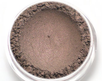 """Taupe with Pink Sheen Eyeshadow - """"Silhouette"""" - Vegan Mineral Eyeshadow Net Wt 2g Mineral Makeup Eye Color Pigment"""
