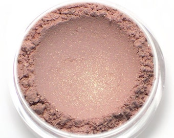 "Light Golden Pink Eyeshadow - ""Heiress"" - Vegan Mineral Eyeshadow Net Wt 2g Mineral Makeup Eye Color Pigment"