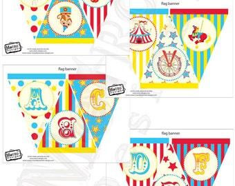 Alphabet Banner Kit, Carnival Banner