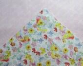 Butterfly Flannel Receiving Blanket