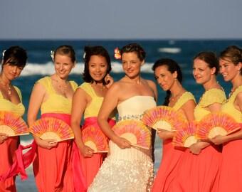 Wedding accessories -Wedding fans - Wedding ideas  - Bridal fashion -Mary