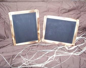 wedding chalkboards/ rustic chalkboards/ rustic decor/ toy chalkboards/ wedding decor shabby chic wedding decor