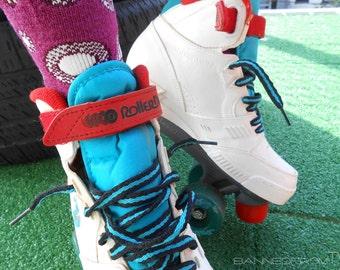 Skates/ Roller Derby Skates/ Roller Skates/ 90s Fashion/ 90s Sneakers/ Sneaker Skates/ Kawaii/ Retro Skates/ Roller Derby