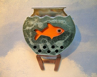 Fish Bowl Pin